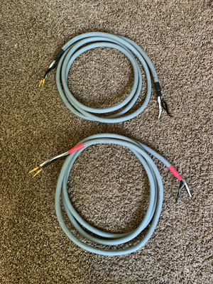 Audioquest Crystal Hyperlitz (bi-wire) for Sale in Puyallup, WA