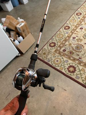 Dawia rod with 13 fishing baitcaster for Sale in Modesto, CA