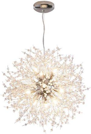 Modern Sputnik Chandelier, 12-Lights , Silver Crystal for Bedroom,Living Room,Dining Room for Sale in Henderson, NV
