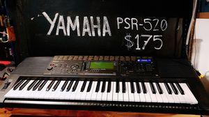 YAMAHA PSR-520 Keyboard for Sale in Edmonds, WA