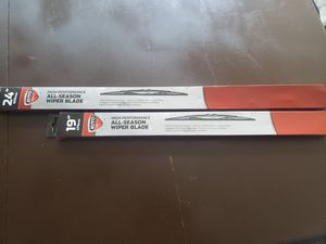 """Set of 2 New Windshield Wipers 19"""" and 24"""" for Sale in Saint Petersburg, FL"""