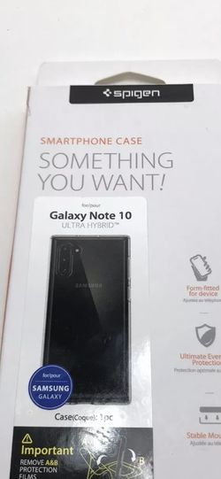 Spigen Samsung Galaxy Note 10 Ultra Hybrid Case - Crystal Clear for Sale in Escondido,  CA