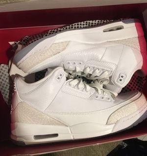 VNDS Nike Air Jordan Retro 3s Pure Money size 13 for Sale in Falls Church, VA