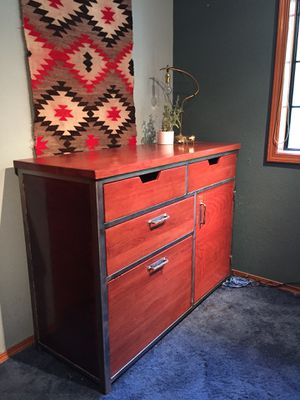 Handmade Industrial Modern Cabinet/Dresser/Storage for Sale in Snohomish, WA