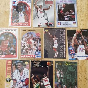 Hakeem Olajuwan Houston Rockets NBA basketball cards for Sale in Gresham, OR