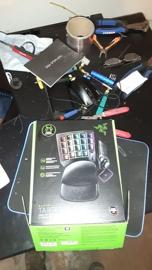 Razer Tartarus Pro game pad for Sale in Waco, TX