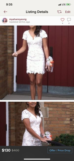Lace formal dress for Sale in Harmony, PA