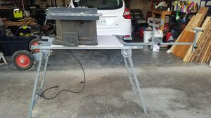 10 inch Craftsman portable saw and universal tool stand for Sale in Murfreesboro, TN
