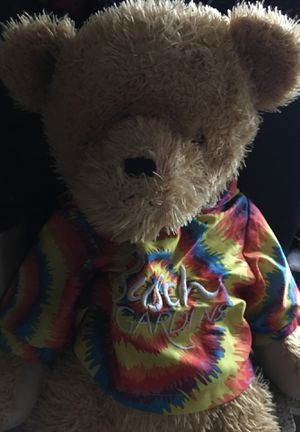 A teddy bear with a jacket for Sale in Plant City, FL