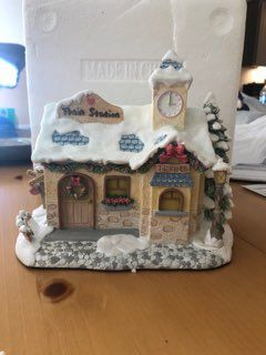 21 Building Precious Moments Christmas Village with Certificates and Accessories for Sale in Mt. Juliet, TN