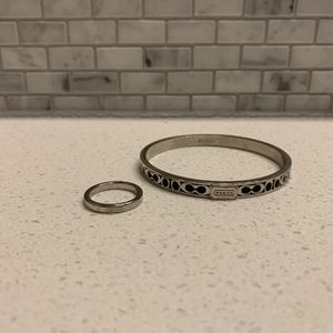 Coach Bracelet and silver Coach Ring for Sale in Ridgefield, WA