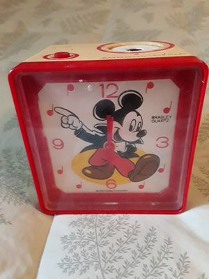 Mickey mouse alarm clock for Sale in Hagerstown, MD