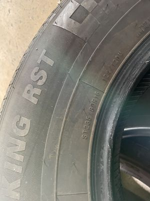 ST235/80R16 used trailer tires. for Sale in Hialeah, FL