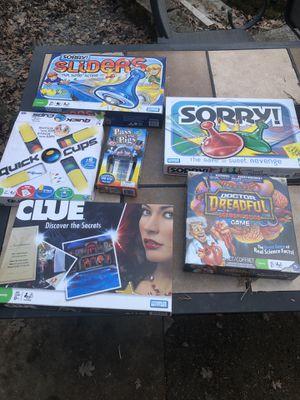 Older kid board games for Sale in Hillsboro, OR
