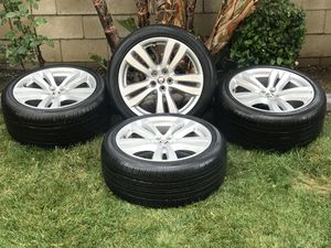 Jaguar Tires & Rims P275/40R19 call {contact info removed} for Sale in Fontana, CA