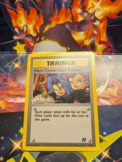 Team Rocket Trainer Card for Sale in Sylmar,  CA