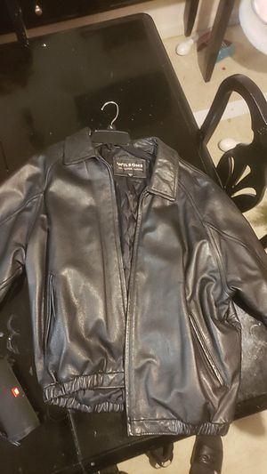 Wilsons leather jacket size Large for Sale in Hayward, CA