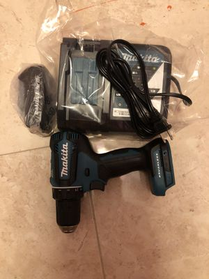 Drill makita con bateria y cargador is brand new for Sale in West Palm Beach, FL