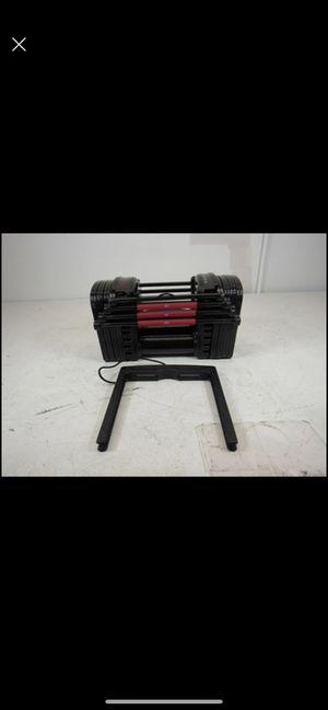 PowerBlock EXP Stage 1 Set Adjustable Dumbbells - 5-50 lbs. Single for Sale in Santa Fe Springs, CA
