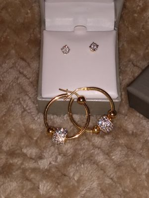 Diamond studs and earrings for Sale in Rex, GA