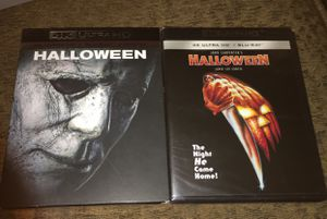 Selling both Halloween movies 2019 vs the original for Sale in Berwyn, IL