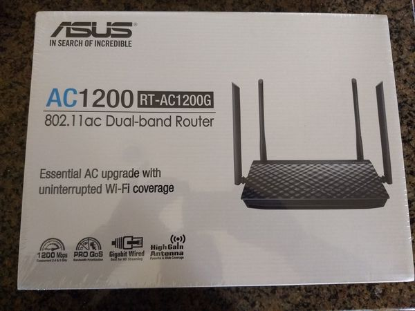 Asus AC1200 RT-AC1200G Dual Band Router - Brand new in factory sealed box with 2 year warranty