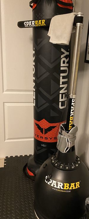 Century punching bag vs1 martial arts fight simulator boxing and spar bar. for Sale in Miami, FL