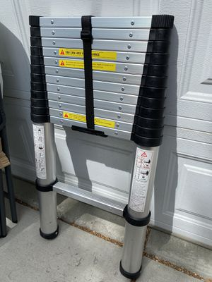 Brand new 12.5ft telescopic ladder for Sale in West Valley City, UT