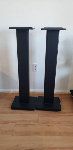 Speaker Wooden Stands for Bookshelf Speakers - Black - Set of 2 for Sale in Los Angeles, CA