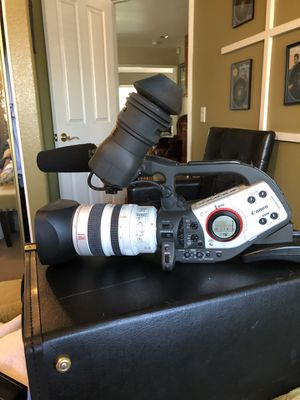 Canon professional video camera XL to need headCleaning for Sale in Fontana, CA