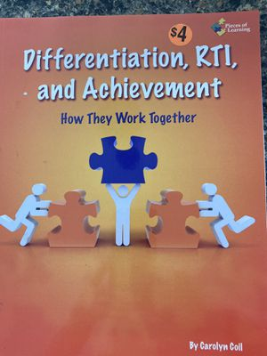 Differentiation & RTI Teacher Resource with Reproducibles for Sale in Chesterfield, MO