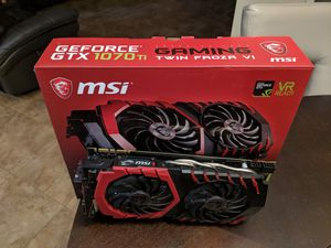 MSI Gaming 1070 Ti Twin Frozr for Sale in Spring Hill, FL