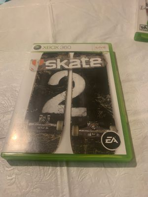 Skate 2 Xbox 360 game for Sale in Aurora, CO