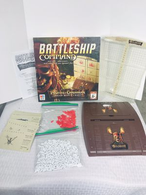 2006 Disney's Pirates Of The Caribbean Battleship Command Game for Sale in Pawtucket, RI