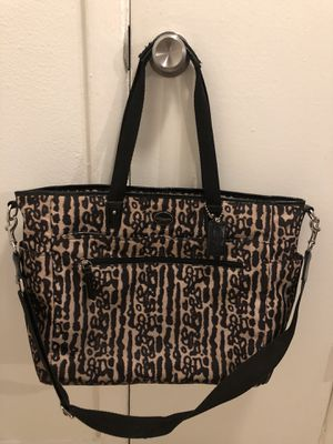 Baby diaper bag Coach ( authentic ) for Sale in Belle Isle, FL