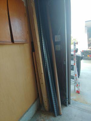A lot of metal shelfs. Pick up asap for Sale in Virginia Beach, VA