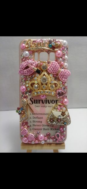 Handmade Breast Cancer Survivor Samsung Galaxy s8 Plus Phone Case for Sale in Cleveland, OH