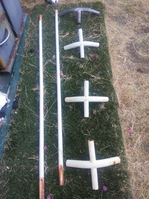 Extra frame parts for a shade / gazebo/car cover/ for Sale in San Diego, CA