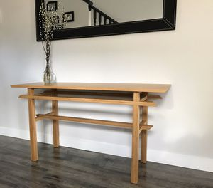 Bamboo Entryway/Console Table for Sale in Kent, WA