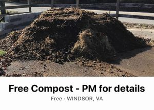 Free compost for Sale in Suffolk, VA