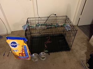 XL Cage, Brand new bag of Pedigree Puppy Chow, Small dog house for Sale in Richmond, KY