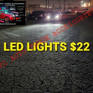 Auto Led Headlight hid Led lights Low Beam High Beam, Fogs Lights Daytime Running Luces Led pairs $H1 $H4$H7 $h9 $H11 $H13 $9005$ 9006$ 9007 $22pair for Sale in Santa Ana, CA