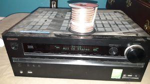 Onkyo Reciever THX . W 50 ft 16Gage Speaker Wire for Sale in Clovis, CA