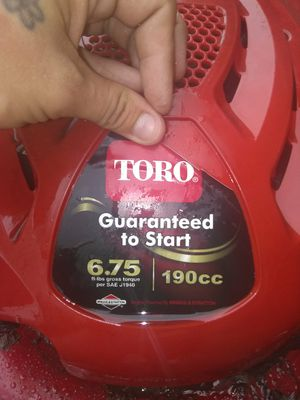 """22"""" Toro Personal Pace Self-Propelled Lawn Mower 190cc (1140339) for Sale in St. Louis, MO"""