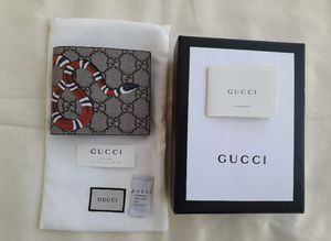 Gucci GG Snake Canvas Wallet (2) for Sale in Portland, OR