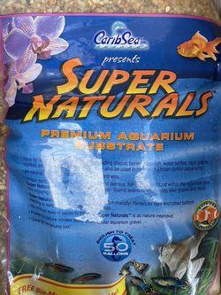 CaribSea Aquatics Super Naturals Aquarium Substrate 50 Pounds Ibs for Sale in Bakersfield,  CA