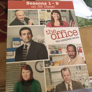 The Office Complete Series DVD Season 1-9 New Unopened Sealed for Sale in Houston, TX