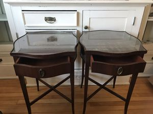 Vintage Mahogany End Tables for Sale in Portland, OR