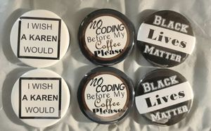 Custom Badge Reels, magnets, and buttons for Sale in Garland, TX