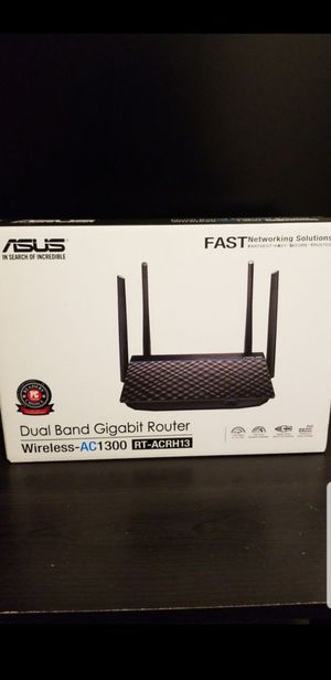 Router Asus- AC1300 for Sale in Troy, TX